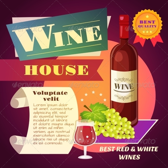 GraphicRiver Wine House Poster 8070497