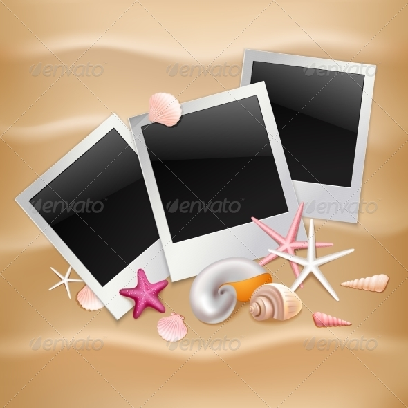 GraphicRiver Summer Photo Frames 8070544