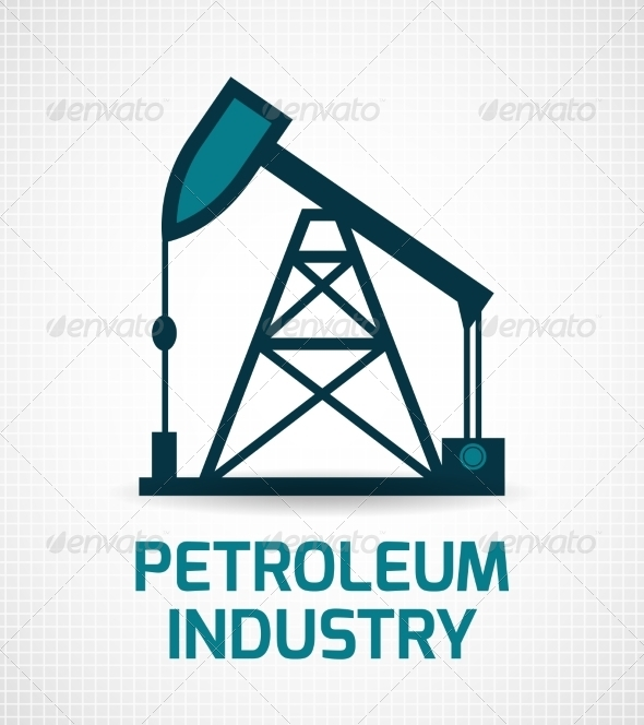GraphicRiver Oil Industry Poster 8070597