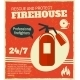 Firefighting Retro Poster - GraphicRiver Item for Sale