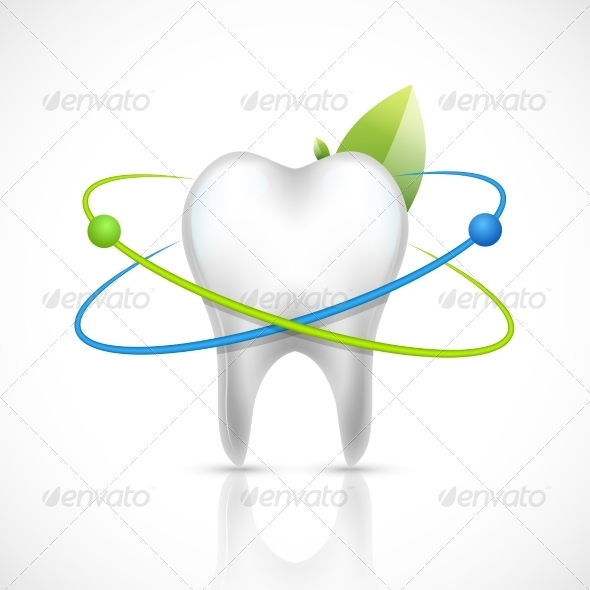 GraphicRiver Healthy Tooth Realistic 8070692