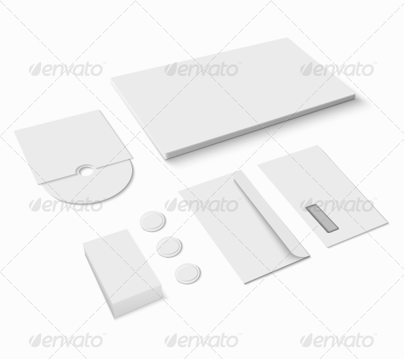 GraphicRiver Blank Stationery Set 8070695