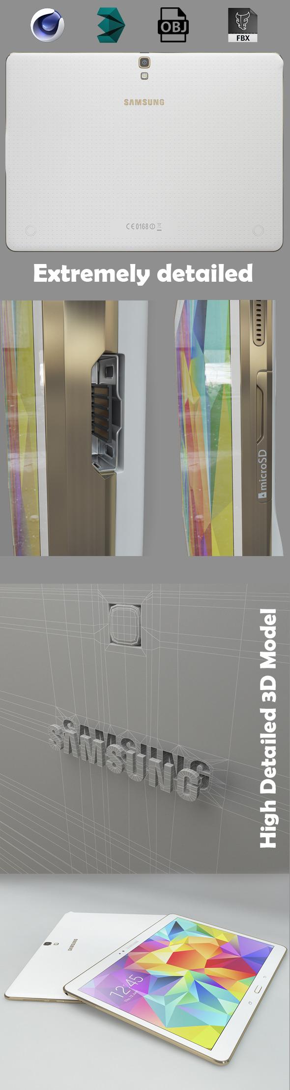 3DOcean Samsung galaxy tab s 10.5 8070728
