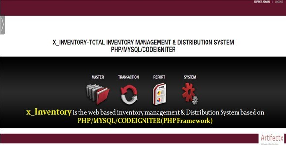 CodeCanyon x Inventory-Php MySql Codeigniter Inventory System 8070967