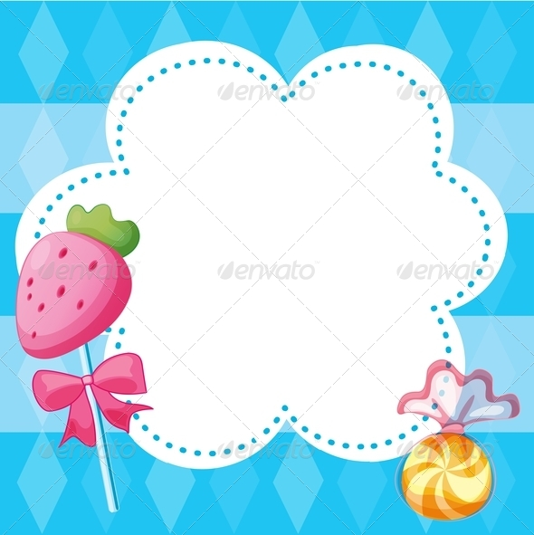 GraphicRiver Stationery Template with Candies 8071031
