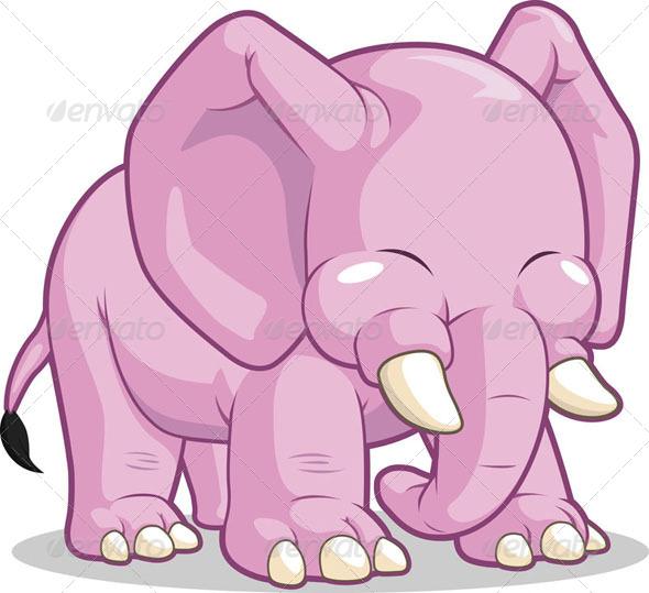 GraphicRiver Cute Elephant 8071104