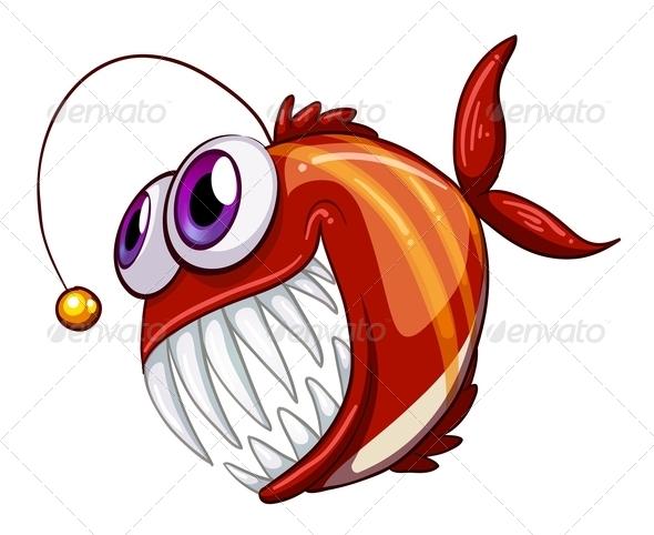 An Ugly Angry Fish
