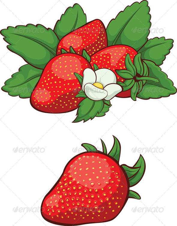 GraphicRiver Fresh Strawberry 8071133