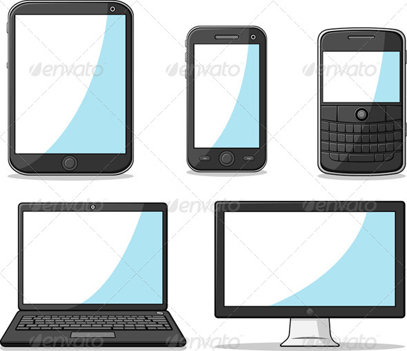 GraphicRiver Smart Phone Tablet Laptop and Computer 8071137