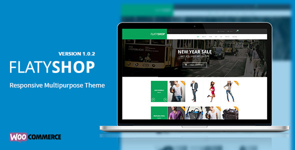 FlatyShop - Responsive Multipurpose WP Theme - Theme Preview