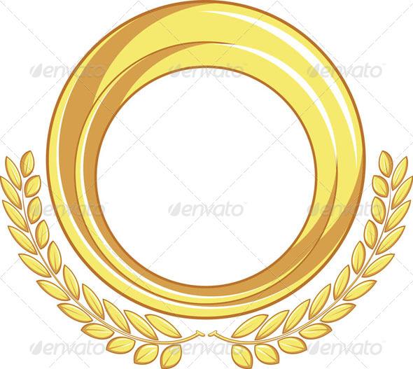 GraphicRiver Golden Badge Ornament 8071176