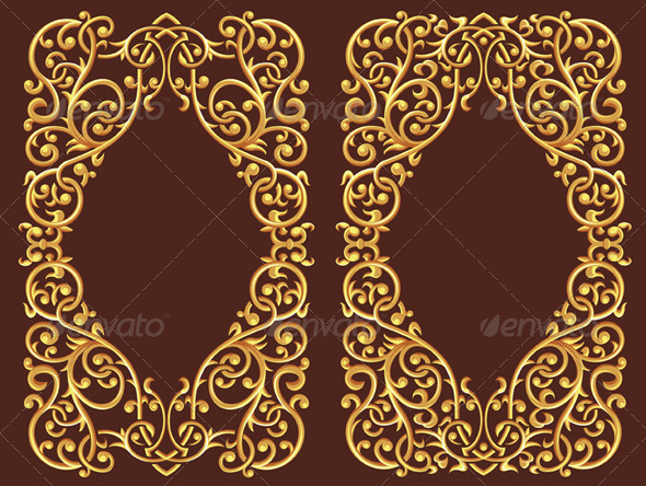 GraphicRiver Golden Floral Ornament 8071182