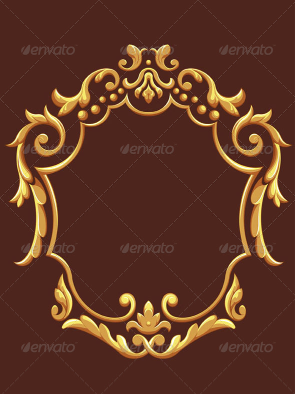 GraphicRiver Golden Royal Ornament 8071186
