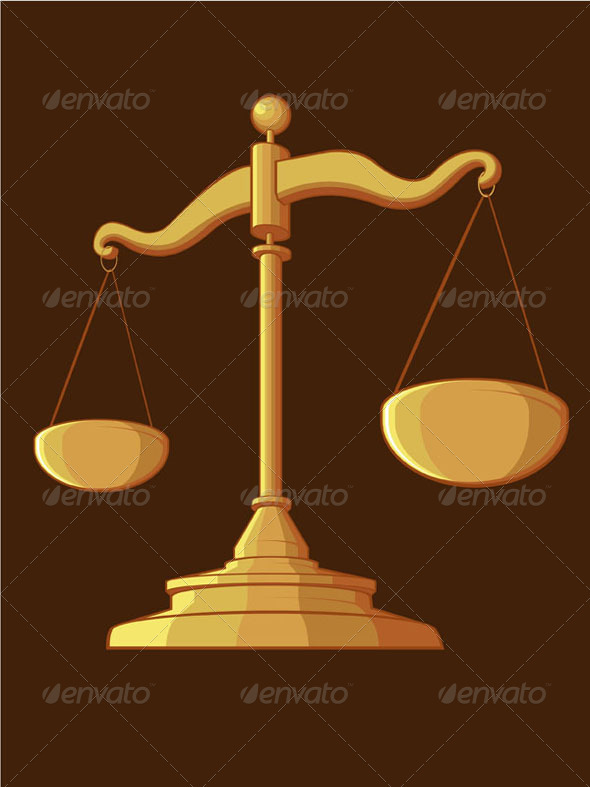 GraphicRiver Justice Scale 8071242
