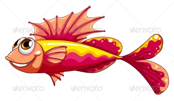 GraphicRiver A Colorful Fish Smiling 8071378