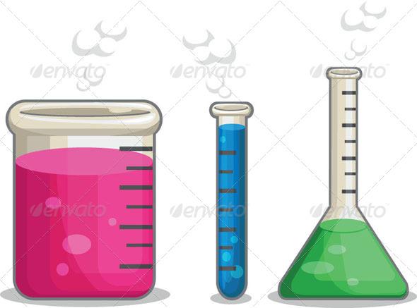 GraphicRiver Laboratorium Chemical Flask 8071379
