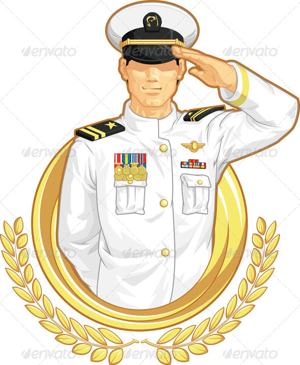 GraphicRiver Military Officer Salute 8071399