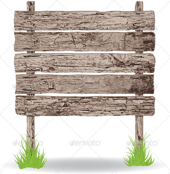 GraphicRiver Wooden Sign 8071459