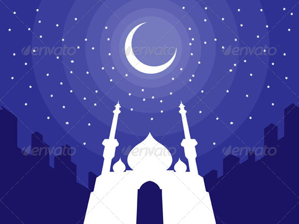 GraphicRiver Ramadan & Eid Mubarak Greeting 8071464