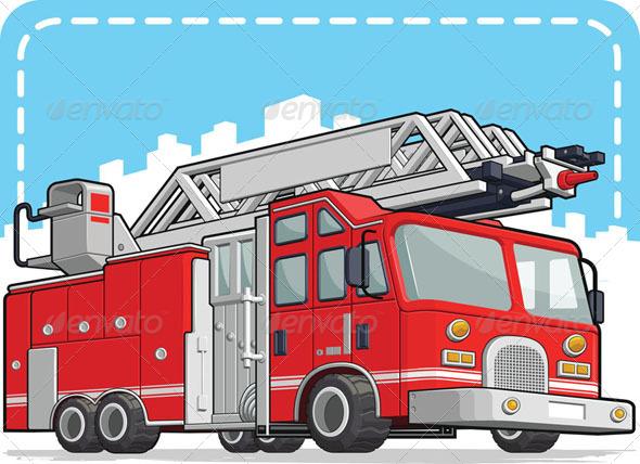 GraphicRiver Fire Engine 8071465