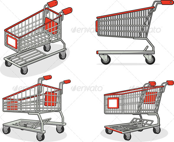 GraphicRiver Shopping Cart Set 8071523
