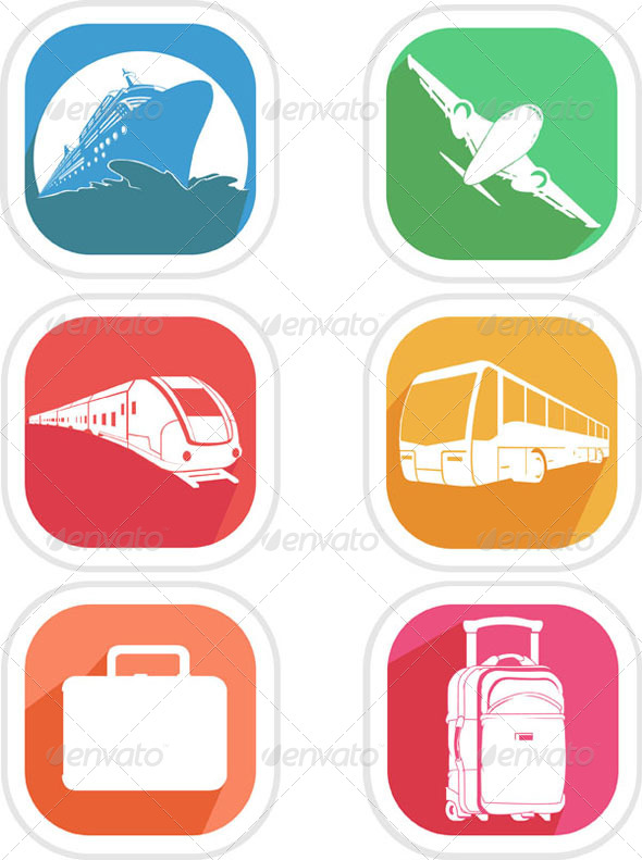 GraphicRiver Transportation Icon 8071566