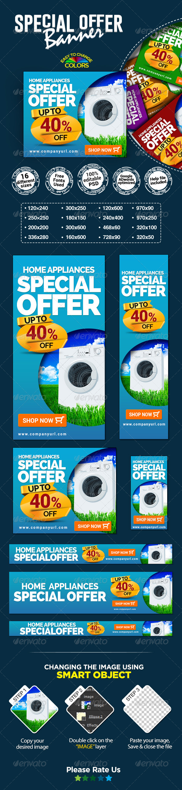 GraphicRiver Special Offer Banners 8071890