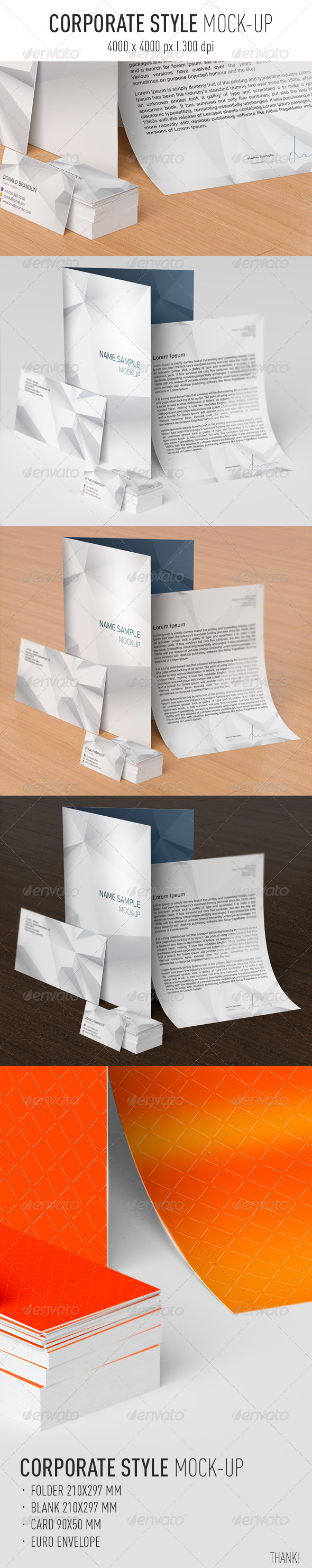 GraphicRiver Stationery I Branding Mock-Up 8072252