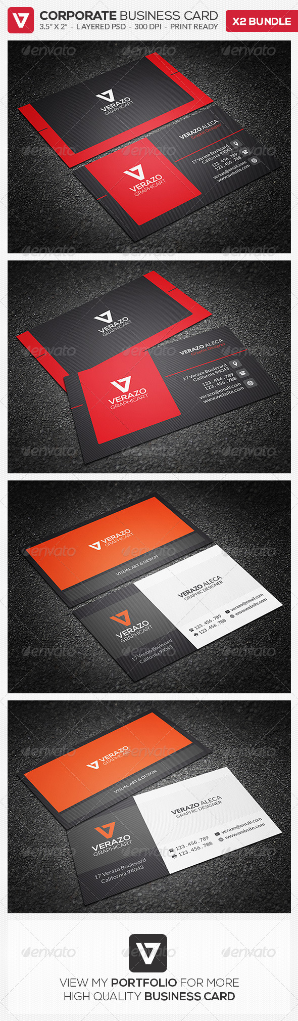 GraphicRiver Business Card Bundle 03 8072677