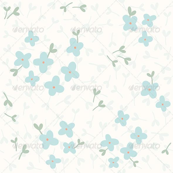 GraphicRiver Flower Pattern 8059835