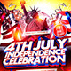 Independence Celebration Flyer Template  - GraphicRiver Item for Sale