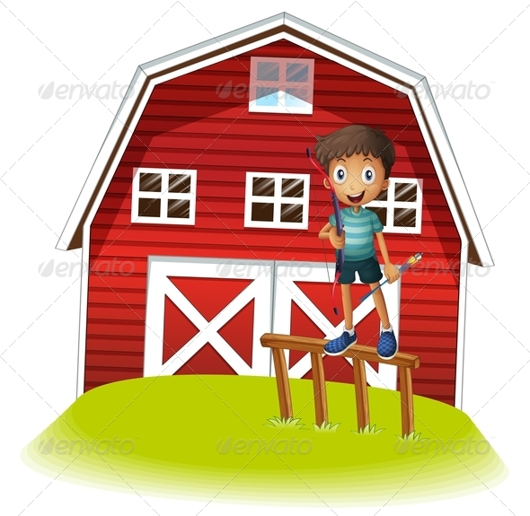 GraphicRiver Boy by Farm House 8073547