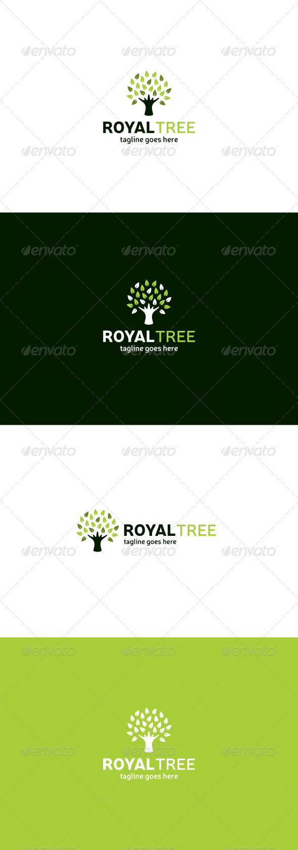 GraphicRiver Royal Tree Logo 8073555