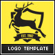 Deer Business Logo Template - GraphicRiver Item for Sale