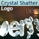 3D Crystal And Diamond Shatter Logo - VideoHive Item for Sale