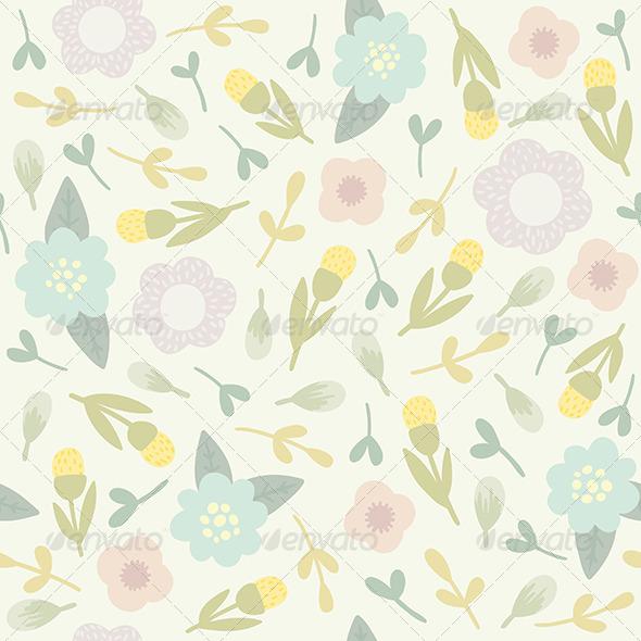 GraphicRiver Flower Pattern 8059444