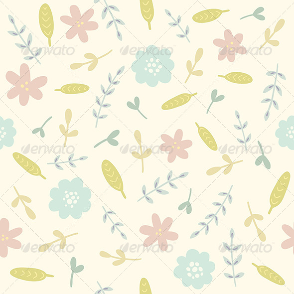GraphicRiver Flower Pattern 8059700