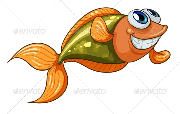 GraphicRiver A Smiling Tiny Fish 8074166