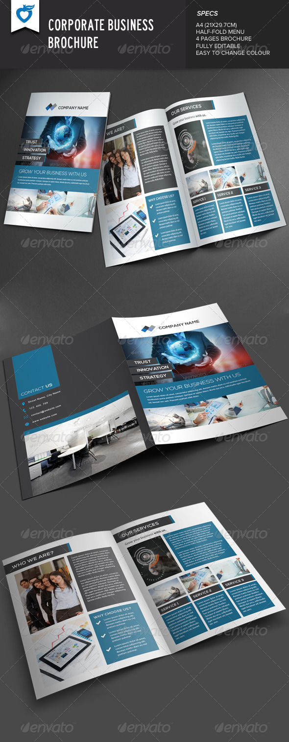 GraphicRiver Corporate Business Brochure v2 8074333