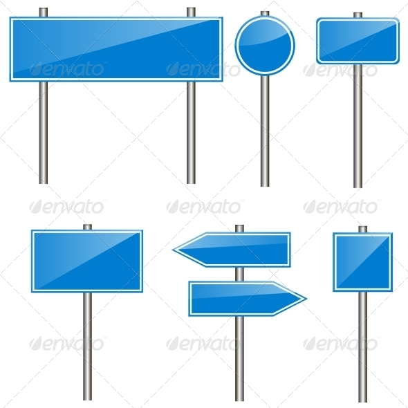 GraphicRiver Road Signs 8074485