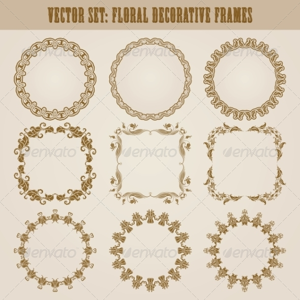 GraphicRiver Decorative Frames 8074541