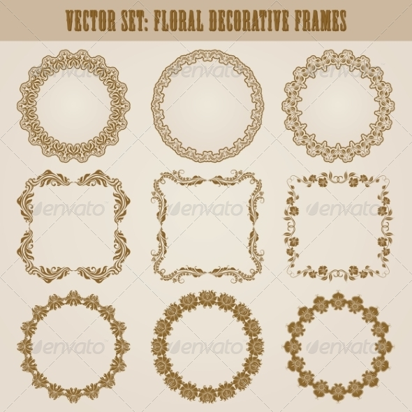 GraphicRiver Decorative Frames 8074552
