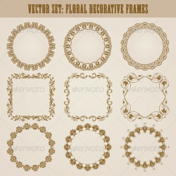 GraphicRiver Decorative Frames 8074559