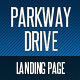 Parkway Drive - Landing Page - ThemeForest Item for Sale