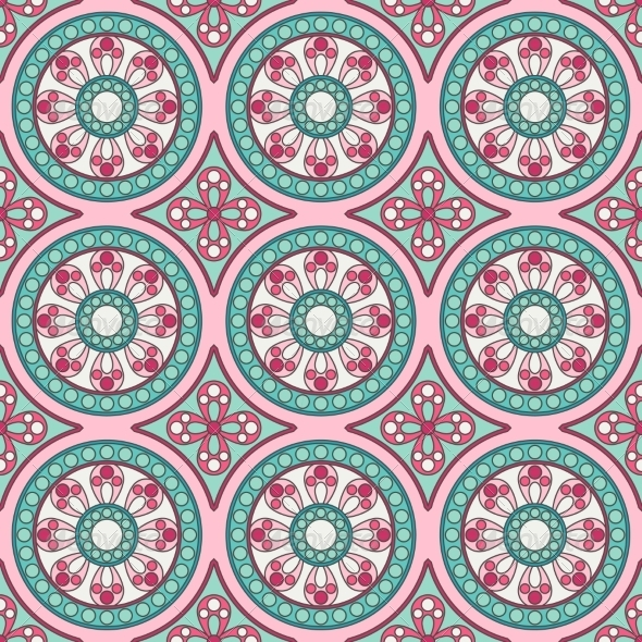 GraphicRiver Geometric Seamless Ornamental Pattern 8074870