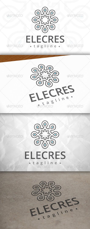 GraphicRiver Elegant Crest Logo 8074933