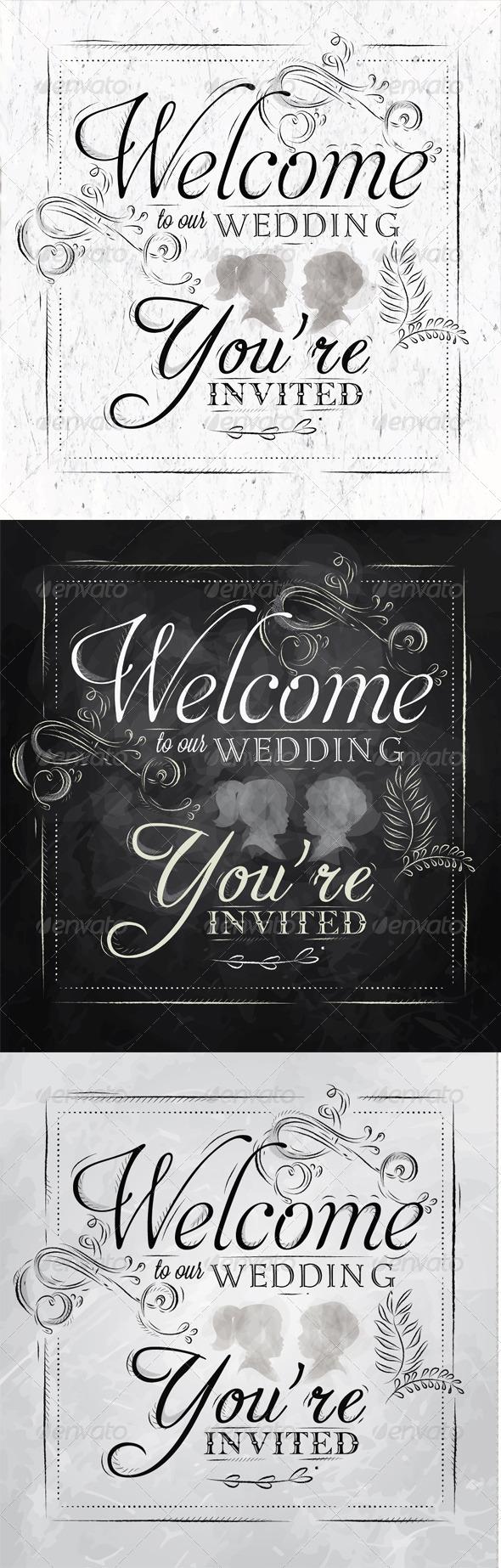 GraphicRiver Wedding Invitation 8074936