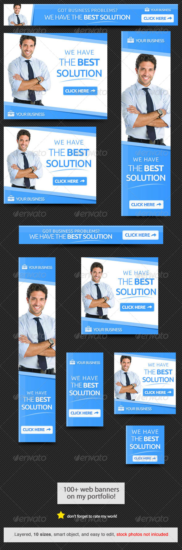 GraphicRiver Business Solution Web Banner 8075025