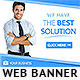 Business Solution Web Banner - GraphicRiver Item for Sale