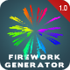 Firework Generator - VideoHive Item for Sale